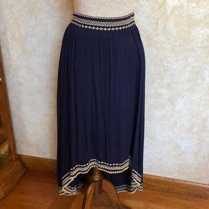 🌺LIKE NEW🌺 High-Low Skirt